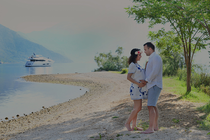 Maternity  photo session in Montenegro